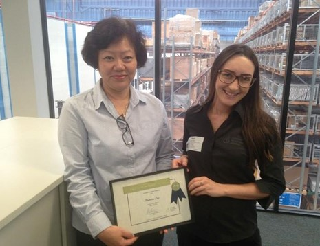 Patricia Lau - Award Photo