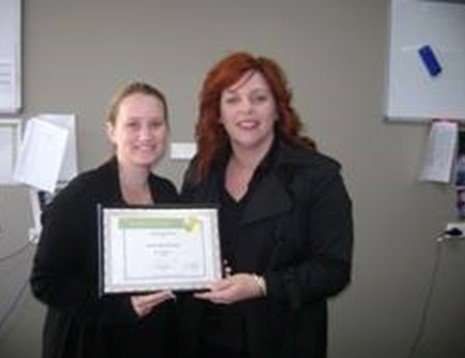 Laura-Jane Burrett - Award Photo