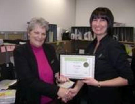 Dianne Notton - Award Photo