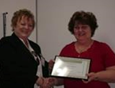 Rhonda McMaugh - Award Photo