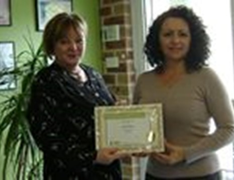 Patricia Cannane - Award Photo