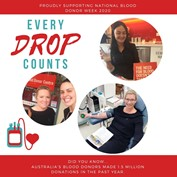 National Blood Donor Week 2020 - Article Image